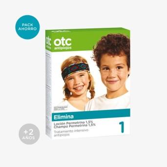 Otc Pack Loción + Champú Permetrina 1,5% Intense