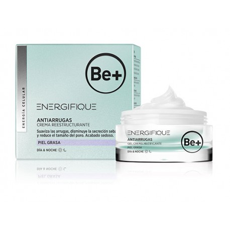 Be+ Energifique Gel Crema Matificante 50 Ml