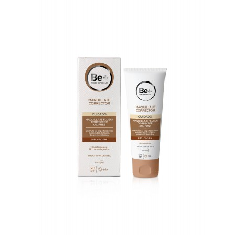 Be+ Maquillaje Fluido Oil-Free Spf20 Oscura 40Ml