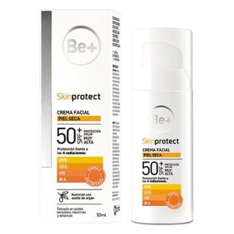 Be+ Skin Protect Piel Seca Spf50+ 50 Ml