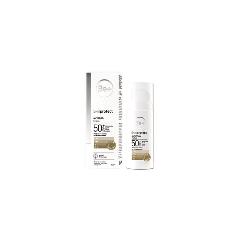 Be+ Skin Protect Antiedad Facial Spf50+ 50 Ml