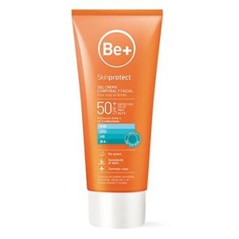 Be+Skinp Gel Crema Corp+Fac Spf50+ 100ml