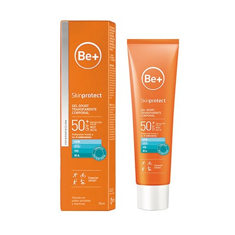 Be+ Skin Protect Gel Sport Spf50+ 75 Ml