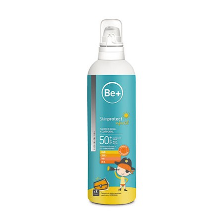 Be+Skinp Inf Fluid Fac+Corp Spf50+ 250ml