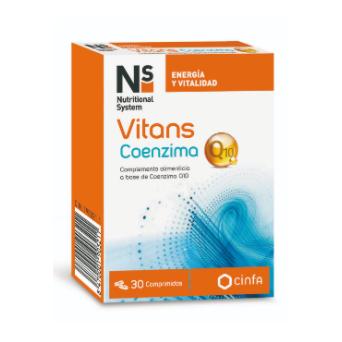 Ns Vitans Coenzima Q10 30 Comp