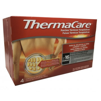 Thermacare Lumbar Cadera 4 Parches