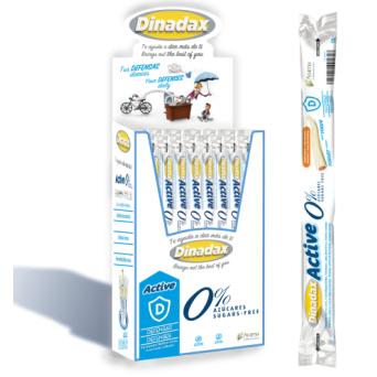 Dinadax Active Zero Sabor Yogur Exp 60 Uds