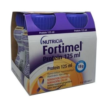Fortimel Protein 4 Botellas 125 Ml Sabor Tropica