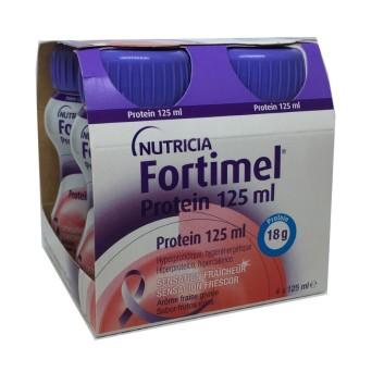 Fortimel Protein 4 Botellas 125 Ml Frutos Rojos