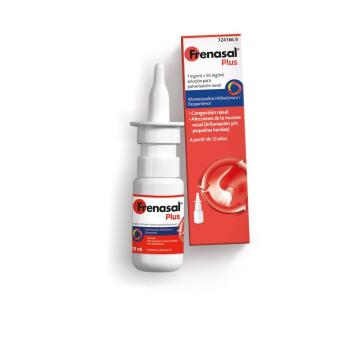 Frenasal Plus 1/50 Mg/Ml Nebulizador Nasal 10 Ml