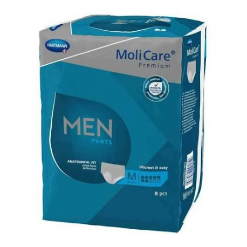 MoliCare Men Pants 7 Gotas M 8 Uds