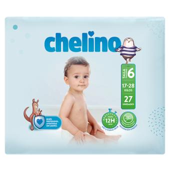Pañal Chelino Love T 6 27 Uds