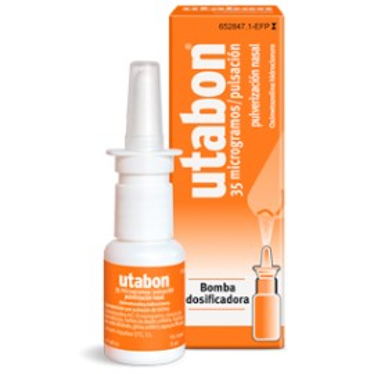 Utabon 35 Mcg/Pulsacion Nebulizador Nasal 15 Ml
