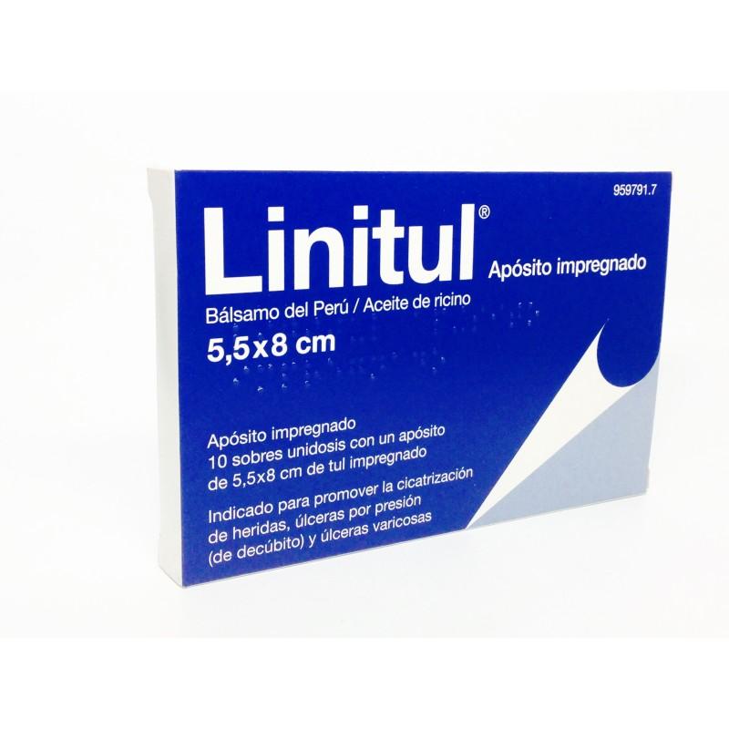 Linitul 10 Apositos Monodosis 5.5 X 8 Cm