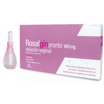 Rosalgin Pronto 140 Mg Solucion Vaginal 5 Unidos