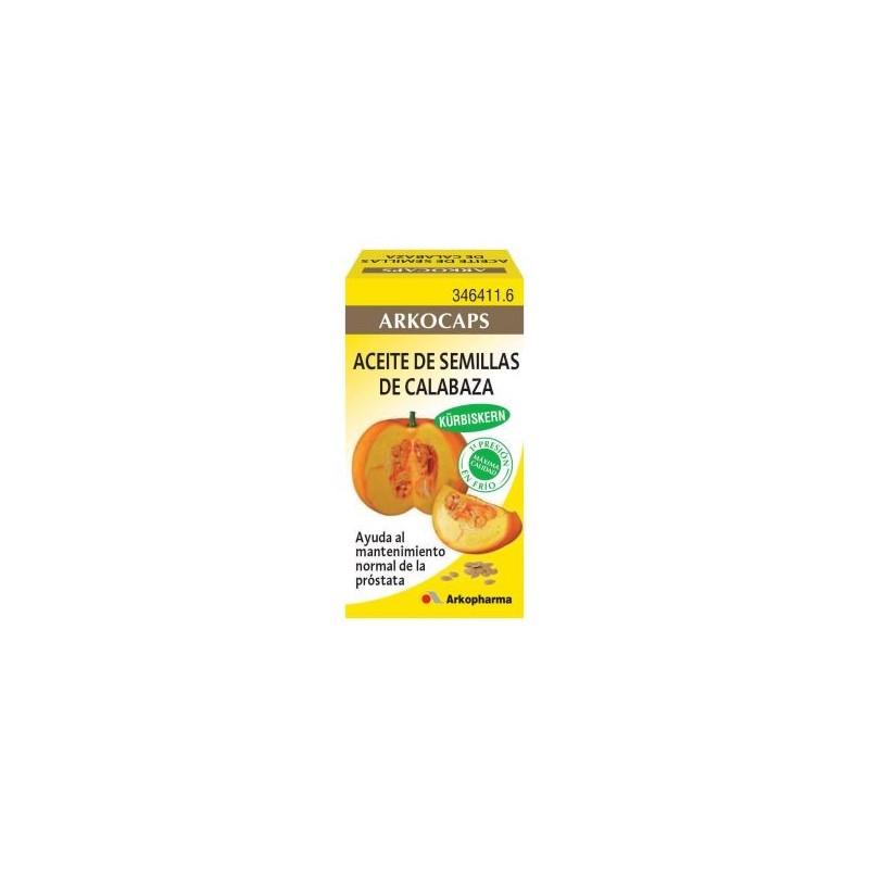 Arkofluido Aceite Calabaza 50 caps