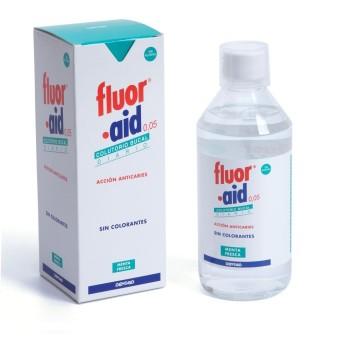Fluor Aid 0 05 Diario 500 Ml
