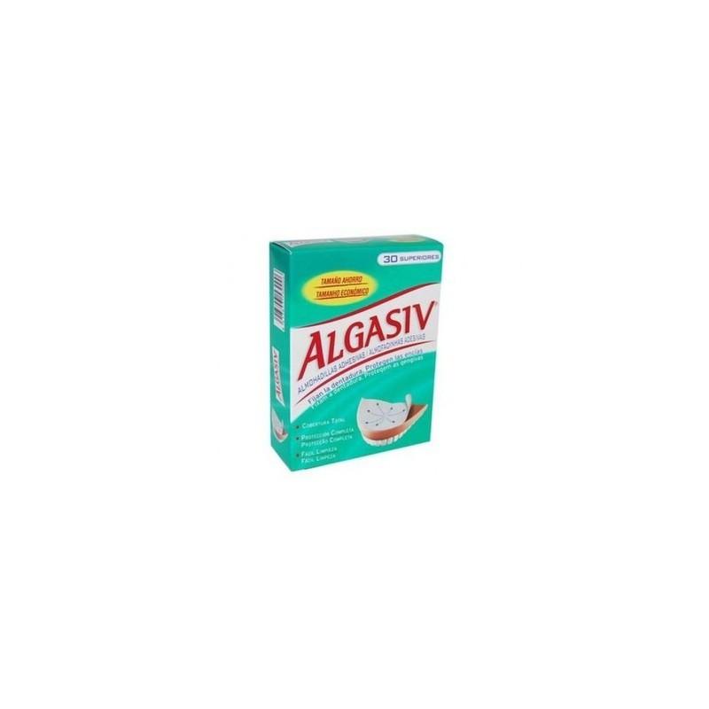 Algasiv Dentadura Superior 30 Almohadillas