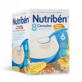 Nutriben 8 Cereales Galleta Maria 600g