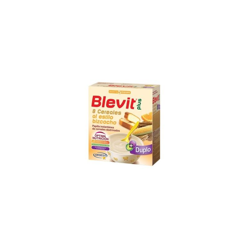Blevit Plus 8 Cereales Bizcocho Naranja 600g