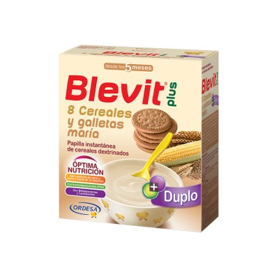 Blevit Plus 8 Cereales Galleta 600 G