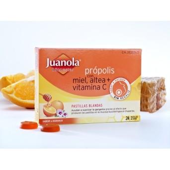 Pastillas Juanola Propolis Altea Naranja 24 Uds