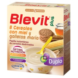 Blevit Plus 8 Cereales Miel Galleta 600g