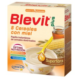 Blevit Plus Superfibra 8 Cereales Miel 600g