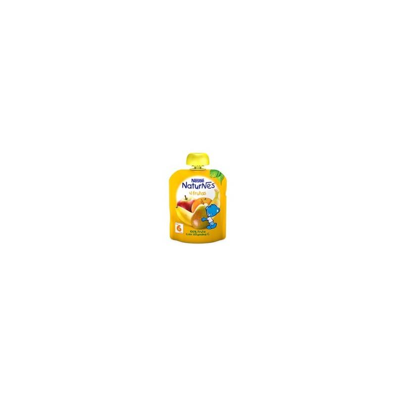 Nestle Naturnes Bolsita 4 Frutas 90 G