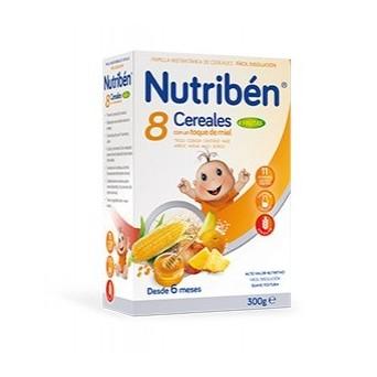 Nutriben 8 Cereales Miel 4 Frutas 300g