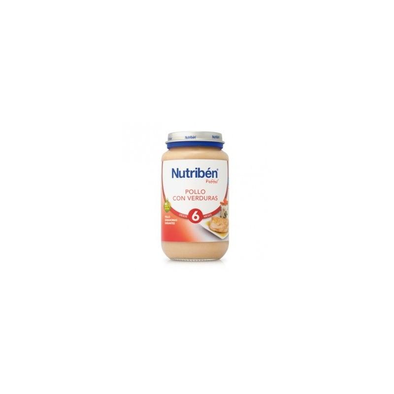 Nutriben Pollo Verduras 250g
