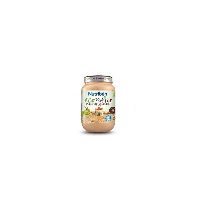 Nutriben Ecopotito Pollo Verduras 200g