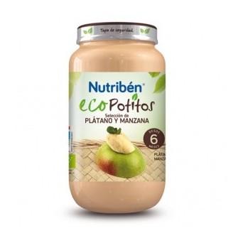 Nutriben Ecopotito Platano Manzana 250 G