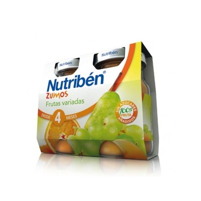 Nutriben Zumo Frutas Variadas 2x130ml