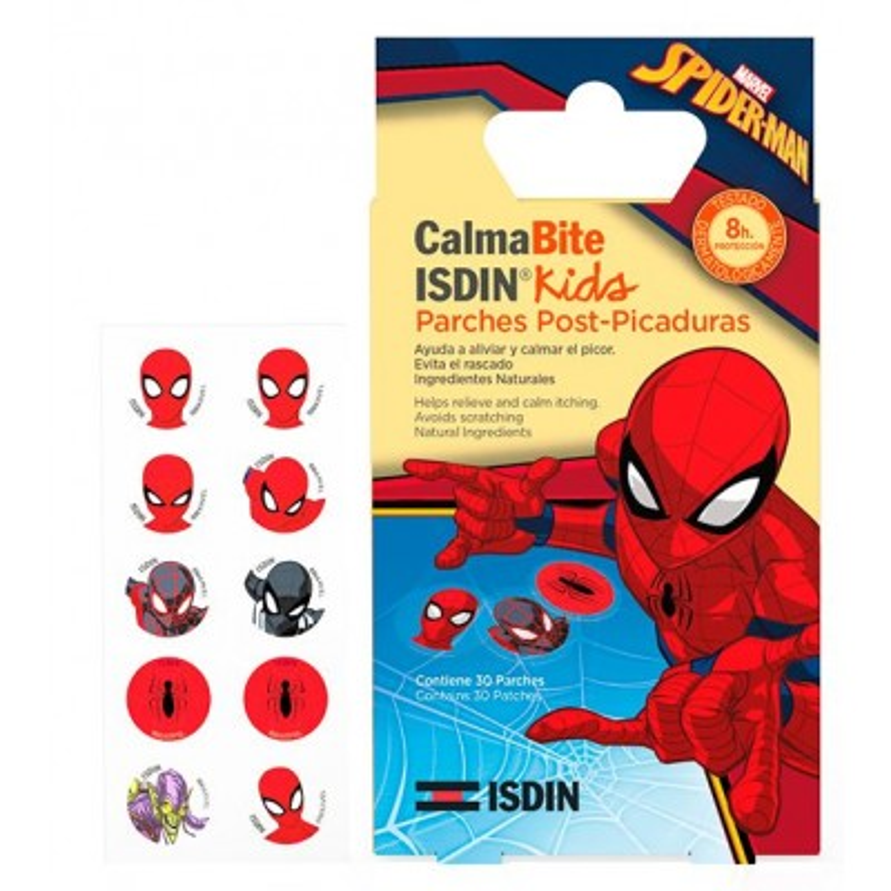 Isdin Kids 30 Parches Postpicaduras Spiderman
