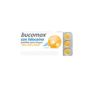 Bucomax Lidocaina 24 Pastillas Para Chupar Miel