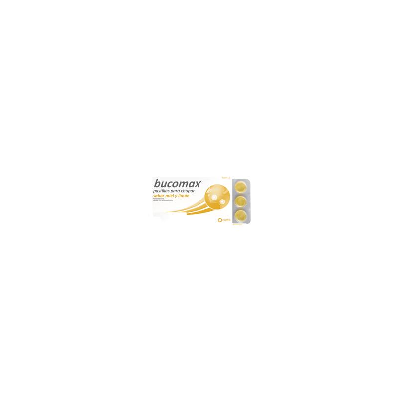 Bucomax 24 Pastillas Para Chupar Miel Y Limon