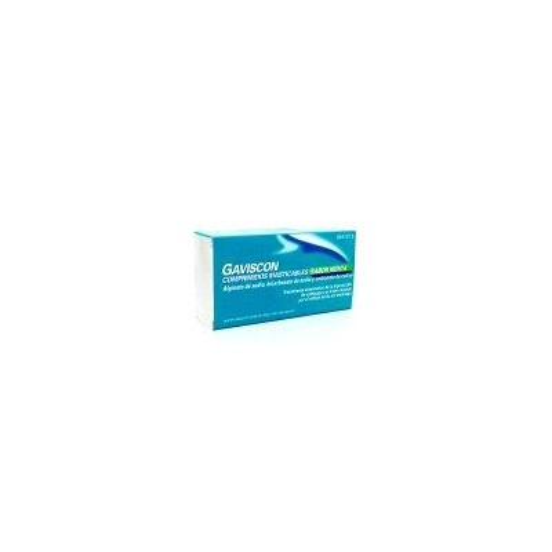 Gaviscon 48 Comp Masticables Menta (Blister)