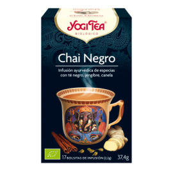 Yogi Tea Chai Negro 17 Infusiones