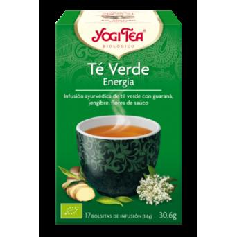Yogi Tea Verde Energía 17 Infusiones