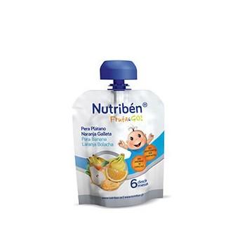 Nutriben Fruta & Go Galletas Pera Platano Naranj