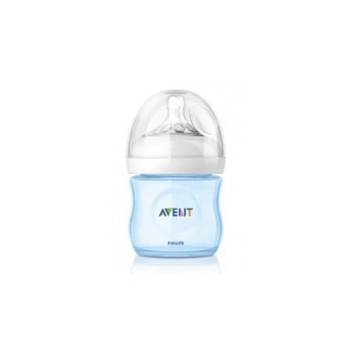 Avent Biberon Natural 125ml Azul SCF692/17