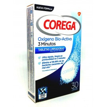Corega Oxigeno Bio Activo 30 Tabs