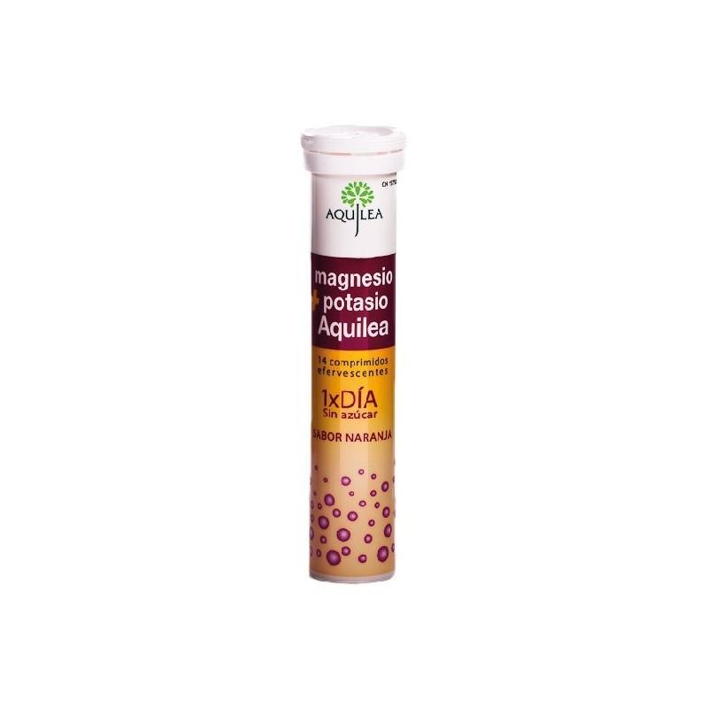 Aquilea Magnesio + Potasio 14 comp efervescentes