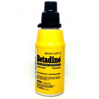 Betadine 100 Mg/Ml Solucion Topica 1 Frasco 125