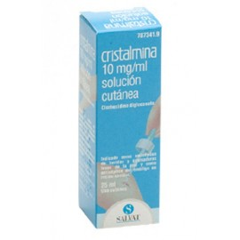 Cristalmina 10 Mg/Ml Solucion Topica 1 Frasco 25