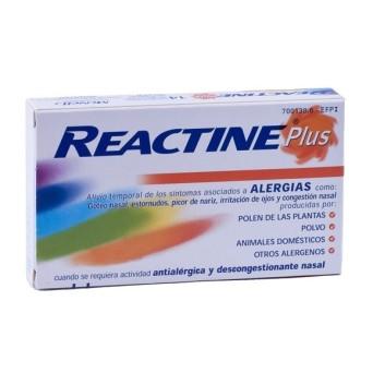Reactine Cetirizina/Pseudoefedrina 5/120 Mg 14 C