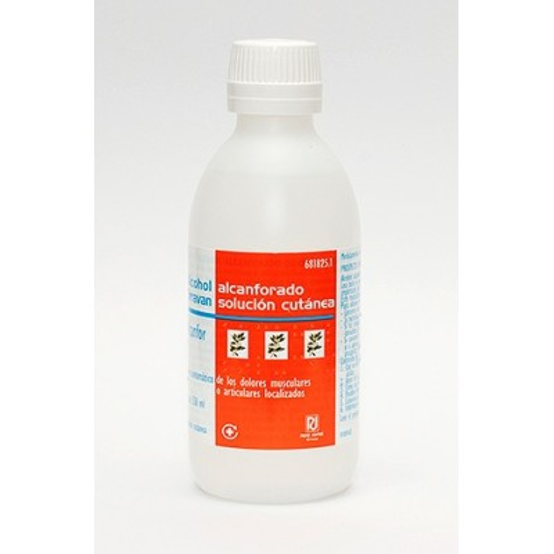 Alcohol Alcanforado Orravan 100 Mg/Ml Solucion T