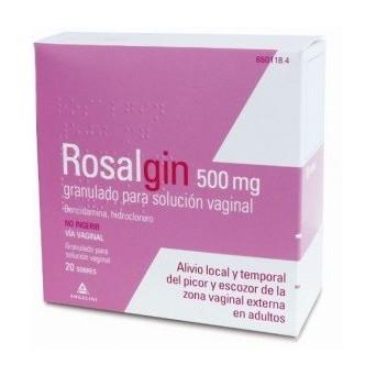 Rosalgin 500 Mg Granulado Solucion Vaginal 20 So