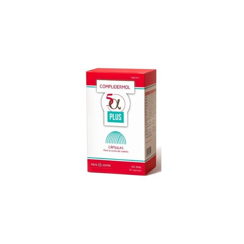 Complidermol 5 Alfa Plus 60 caps